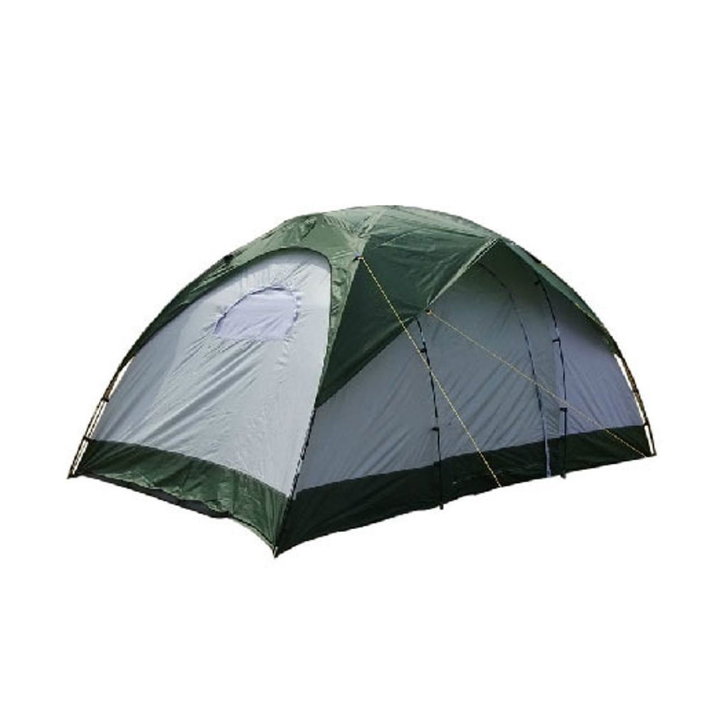 ZJKC® 8-Person 3 Room Cabin Family Tent 210T Polyester Rain Fly PU3000mm Waterproof 12.5 by 7.9 Foot Camping Tent