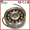 Stainless steel underwater DMX controller 12w led nozzle fountain light