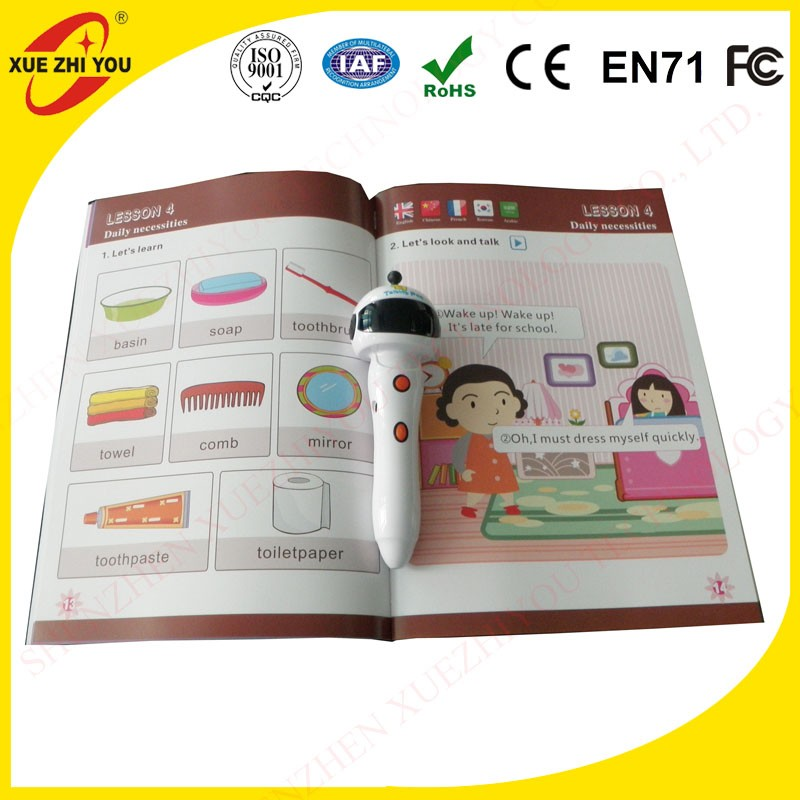 Cheap talking pen on sale children reading pen books to study English