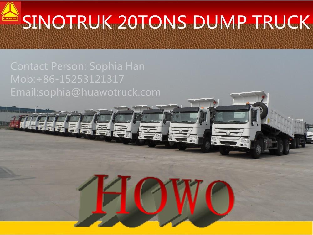 New Face Design Howo 371hp Lorry Trucks Big Truck 25tonne Tipper ...