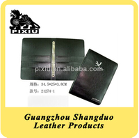 High Quality Custom Faux Leather Resturant Service Directory File Holder