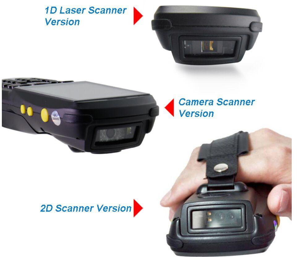 Cheap Courier Handheld PDA filled 1D laser barcode scanner PDA3501