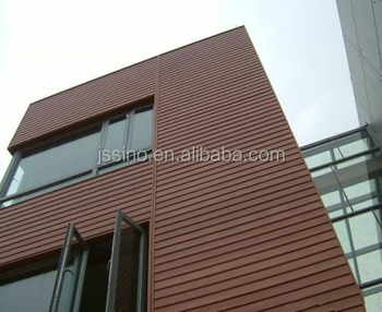 Exterior wood plastic composite deck covering material - Exterior wall finishes materials ...