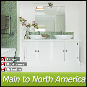 North American standard knock down hotel bathroom furniture