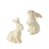 "Spring - 5"" Ceramic Easter Bunny Figurines"