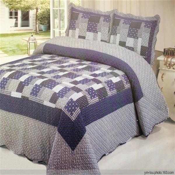 New Design Pattern Hand Applique Bedsheet China Supplier