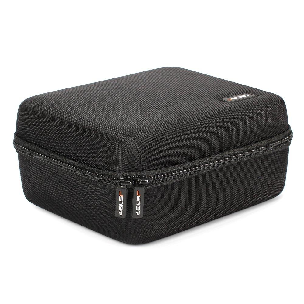 JSVER Gear VR Case EVA Hard Travel Storage Carrying Protective Bag for Samsung Gear VR/Oculus Go Virtual Reality Headset Gamepad Game Controller Kit