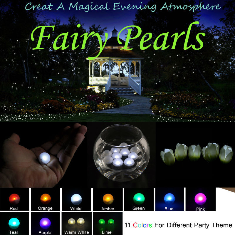 Party Decoration Small Balls!!! Colorful Waterproof Battery ...