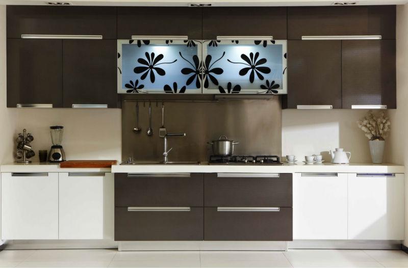 2013 Modern barato PVC muebles de cocina para la ventaCocinas