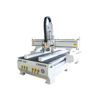 ATC woodworking machine with vertical and horizontal spindles cnc router