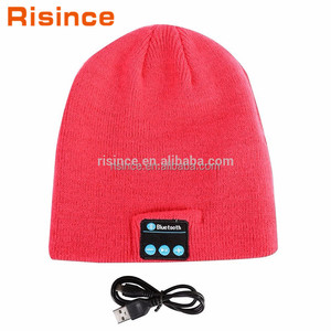 DSP Technology Rechargeable Winter Bluetooth Speaker Hat