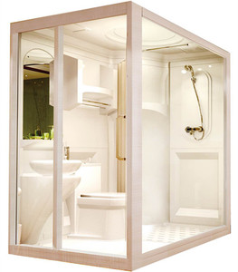 Hot sale modern fiberglass reinforced acrylic prefab trending high quality bathroom unit bathroom pods
