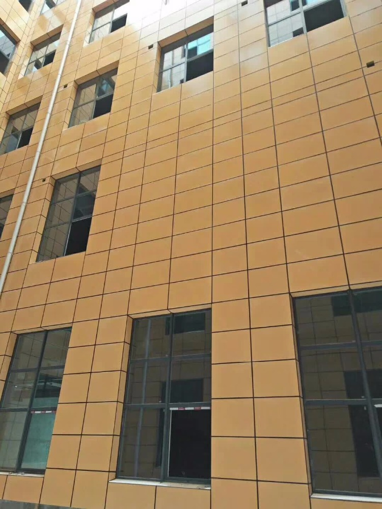 Weather resistant Outdoor UV Curing fibre Cement Board Panel