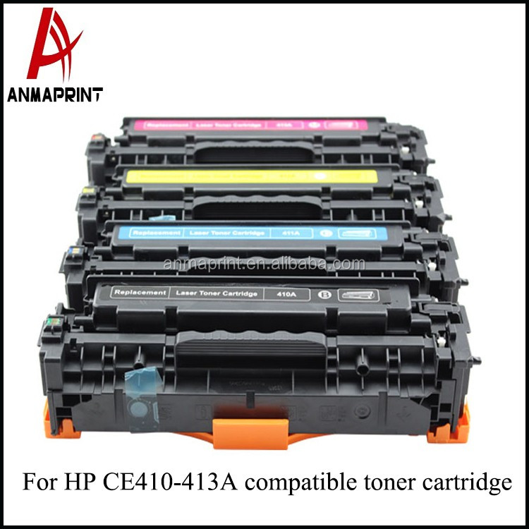 China Good price High Quality Best Design Full compatible cartridge CE410A toner Cartridge for HP Printers