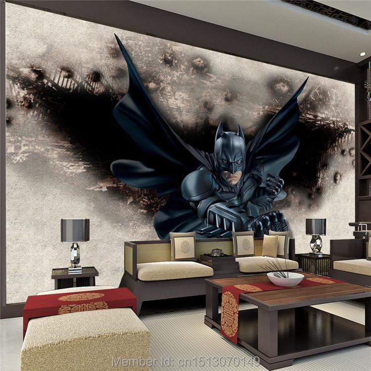 3D Amazing Batman Wall Mural Custom Large Photo wallpaper ... - photo#35