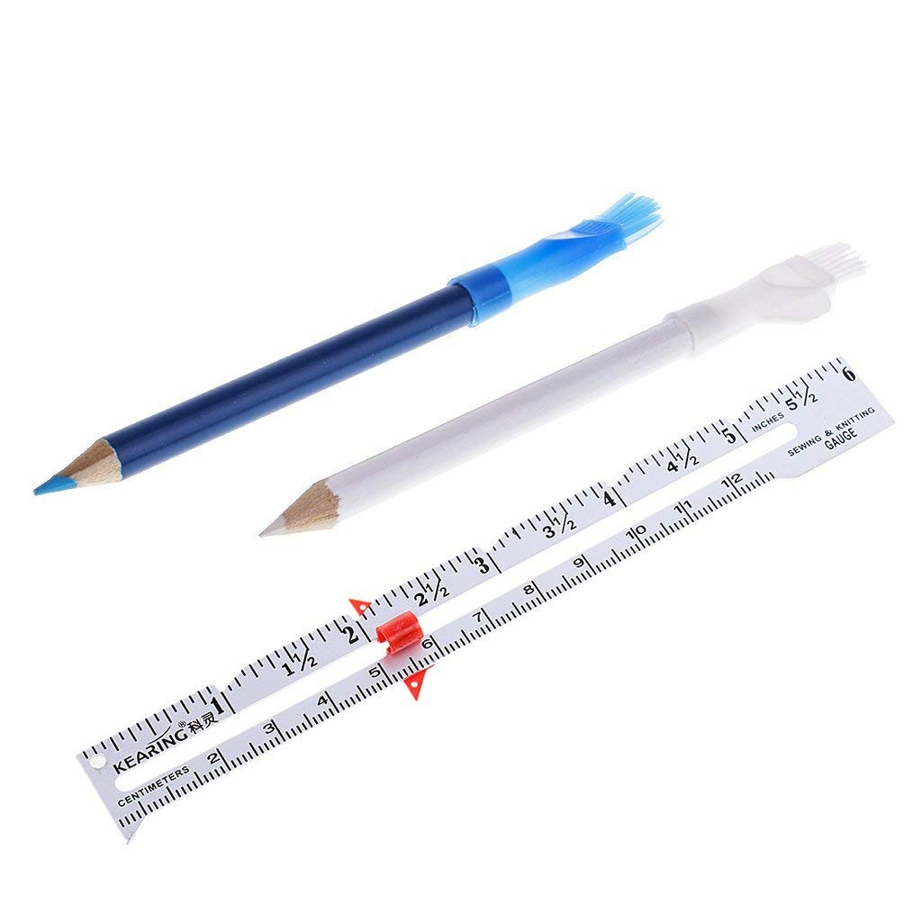 Rulers Trend Mark 1pc 15cm Professional Tailoring Sewing Gauge Ruler Accessories Supplies 9z Cloth Sewing Measuring Gauging Tools