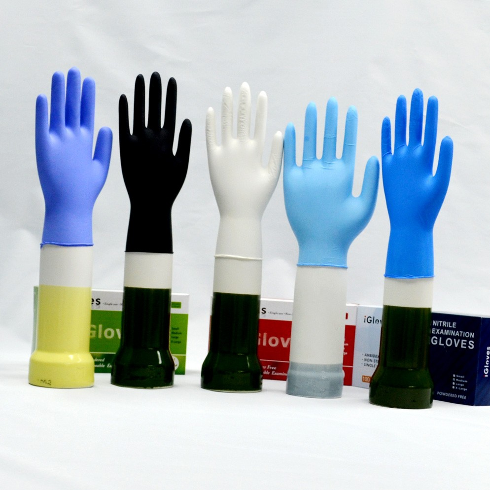 Low price medical nitrile glove manufacturers gloves nitrile for hospital