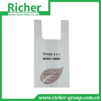 bio degradable plastic shopping bag wholesale from China factory directly