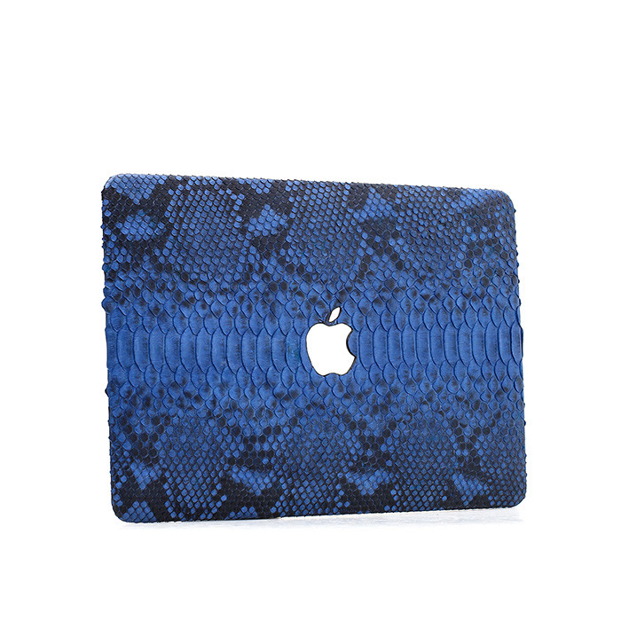 Custom python leather protective case for Macbook Air 13 laptop