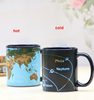 New product heat sensitive color changing ceramic magic mug