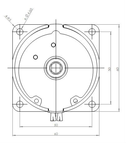 Low Rpm Universal Gear Head AC Motor Torque Rotating Motor
