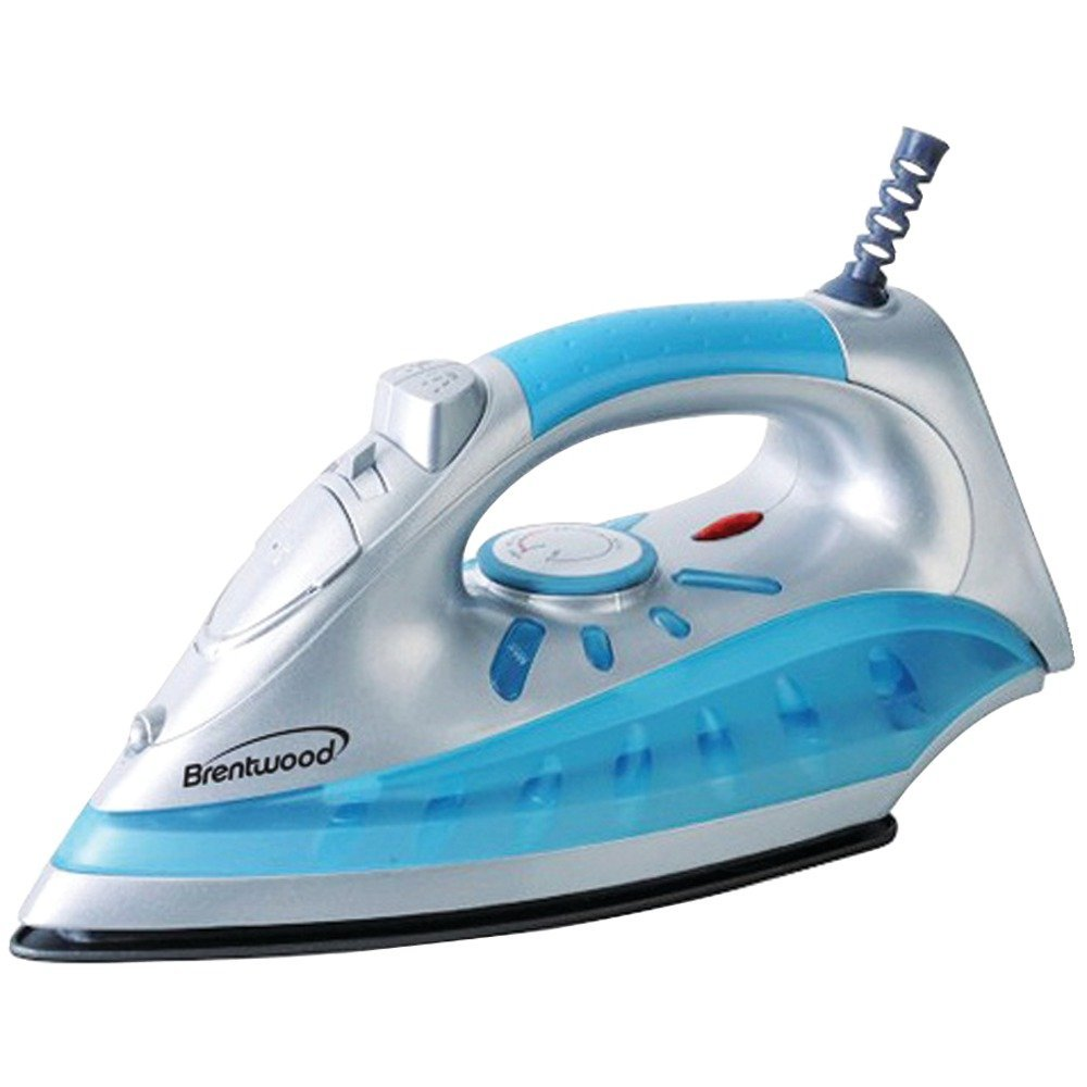 1 - NONSTCK STM/DRY IRON SLVR, Nonstick Steam/Dry, Spray Iron with Silver Finish, Full size , Silver finish , Adjustable heat control , Dry, steam & spray settings , Variable steam settings …