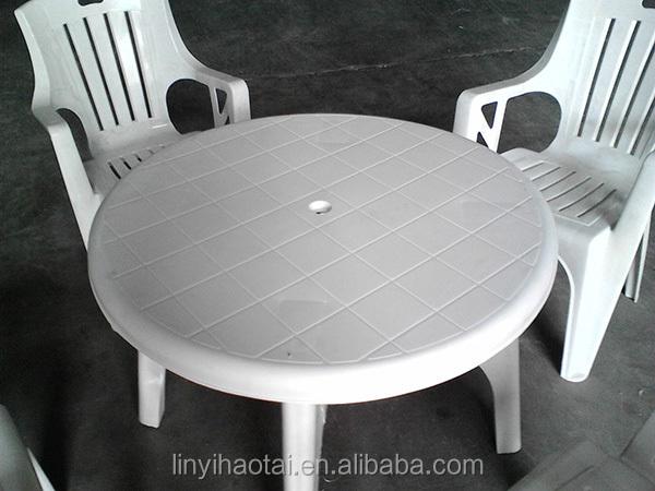 Stunning table de jardin ronde plastique blanc gallery - Table jardin ronde plastique ...