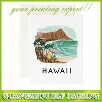 (BLF-GC054) Hawaii paper postcard