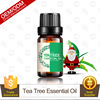 OEM/ODM Manufacturer Supply Refreshing and Calming Christmas 100% Pure and Natural Tea Tree Essential Oil in 10ML Glass Bottle