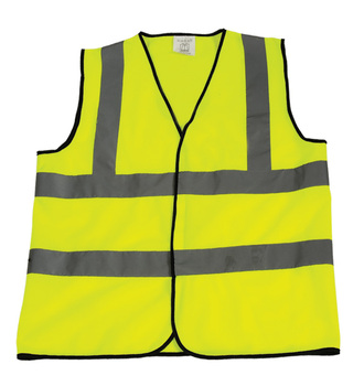 Top quality antique Class 2 high visibility yellow green outdoor work safety vests pvc reflective hot sell