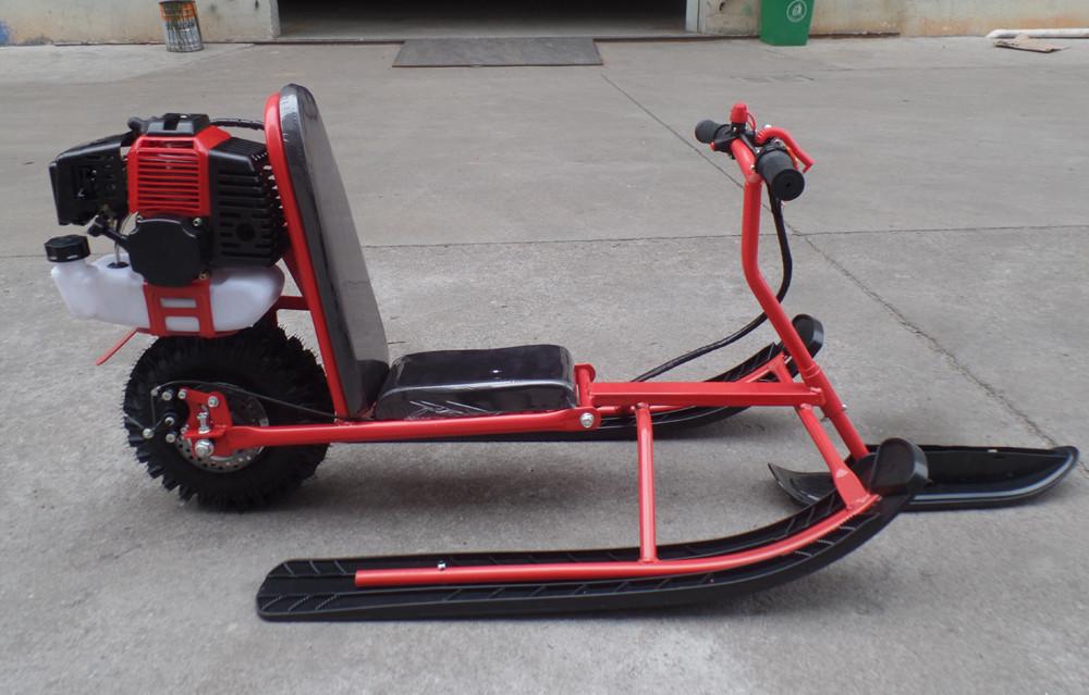 49cc gaz enfants motoneige neige scooter pas cher vendre voiture sur luge id de produit. Black Bedroom Furniture Sets. Home Design Ideas