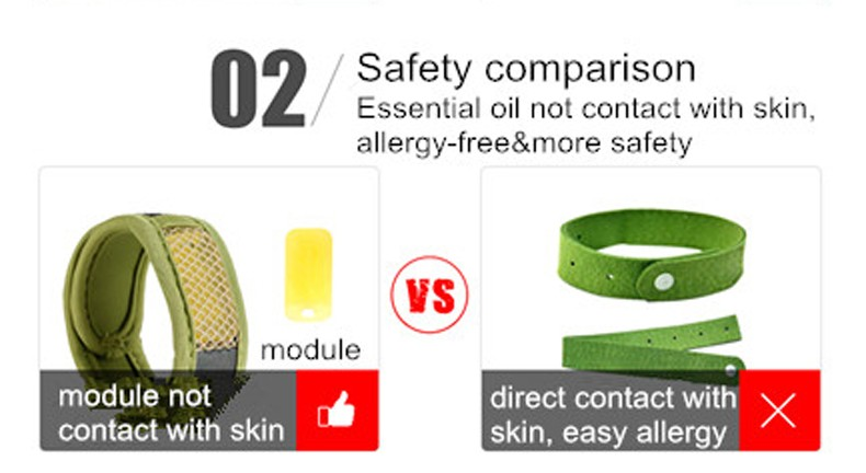Bugout Magic Mosquito Repellent Bracelet For Children And Adult Outdoor Activities Ankleband