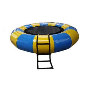 hot sale air-tight inflatable water trampoline