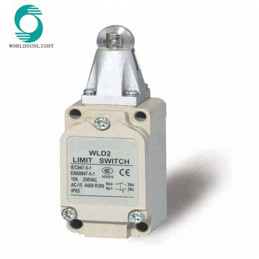 En60947-5-1 Waterproof Wld2 Types Of Electrical Roller Plunger Type ...