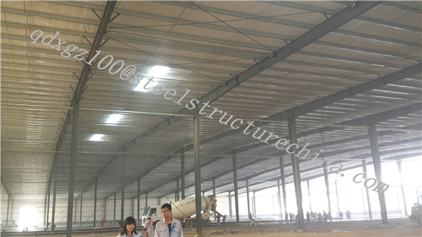 ISO9001&BV prefabricated industrial sheds