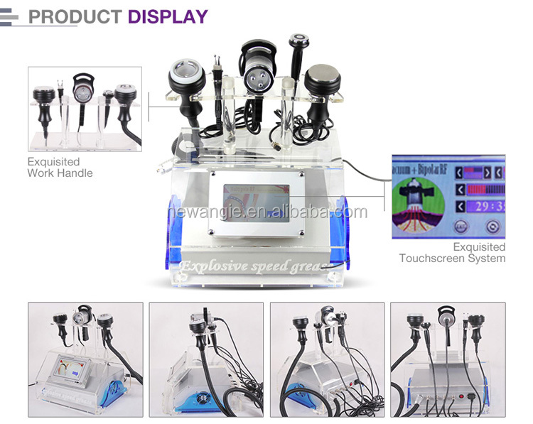 Non-invasive fat vacuum liposuction cavitation machine slimming