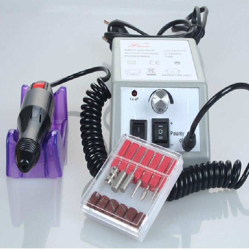 manicure pedicure set 20000 rpm electric mill machine nail polish machine nail drill machine. Black Bedroom Furniture Sets. Home Design Ideas