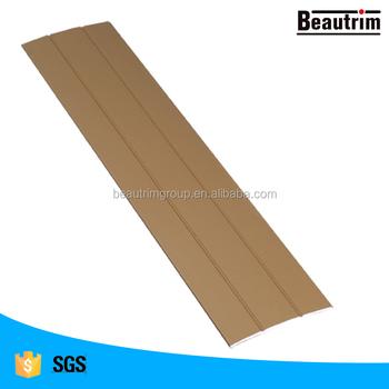 aluminum cover strip for carpet and flooring