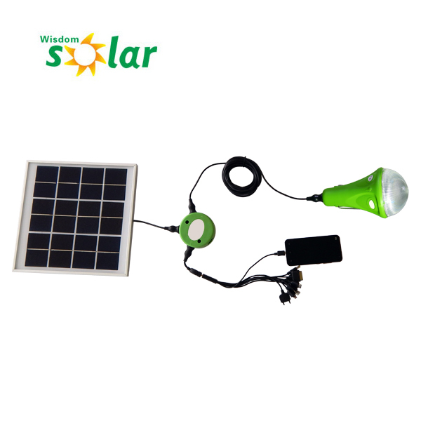 Solar light bulb for remote area/household