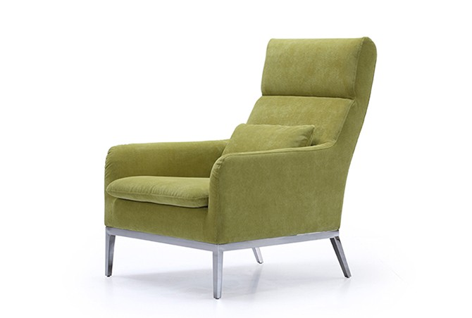 Green Salon Velvet Accent Arm Chair For Living Room Buy Green Chair Green A