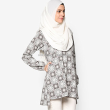 Islamic clothing fashion blouse tunic wholesale fashion tunic for women