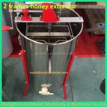 Hot selling 6 frames stainless steel radial electric honey extractor with lowest price