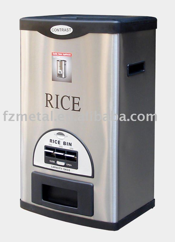 stainless steel rice storage containers