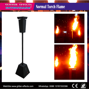 Decorative artificial outdoor indoor alcohol fire effect flame torch