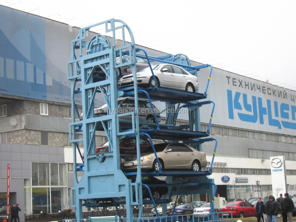Mulyi Level Rotary Type Smart Parking System Rotary
