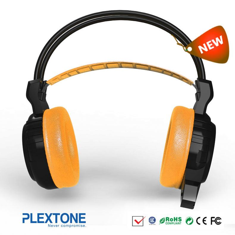 Fashion style Super bass metal computer gaming headset from China manufacturer