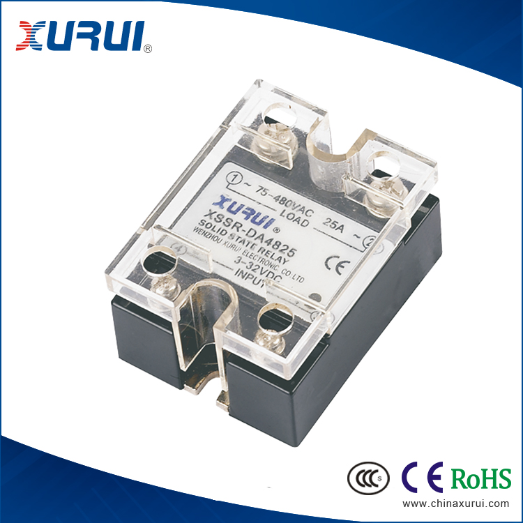 125a input single phase ac solid state relay for automobile flashers