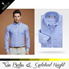 Factory outlet price elegant fashional style fancy design men shirt