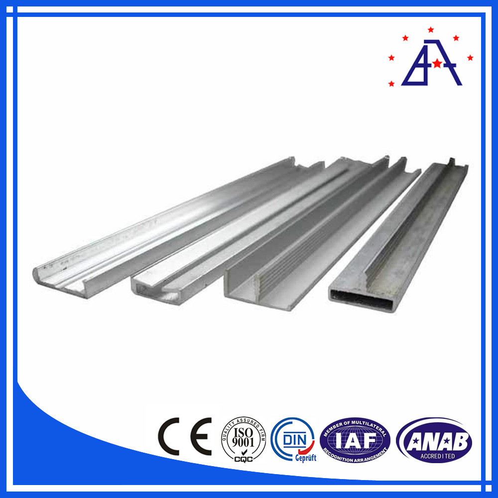 perfil de aluminio para hacer puertas y ventanas perfiles