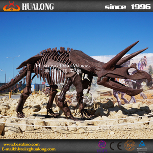 Indoor Playground Artificial Dinosaur Skeleton Replicas